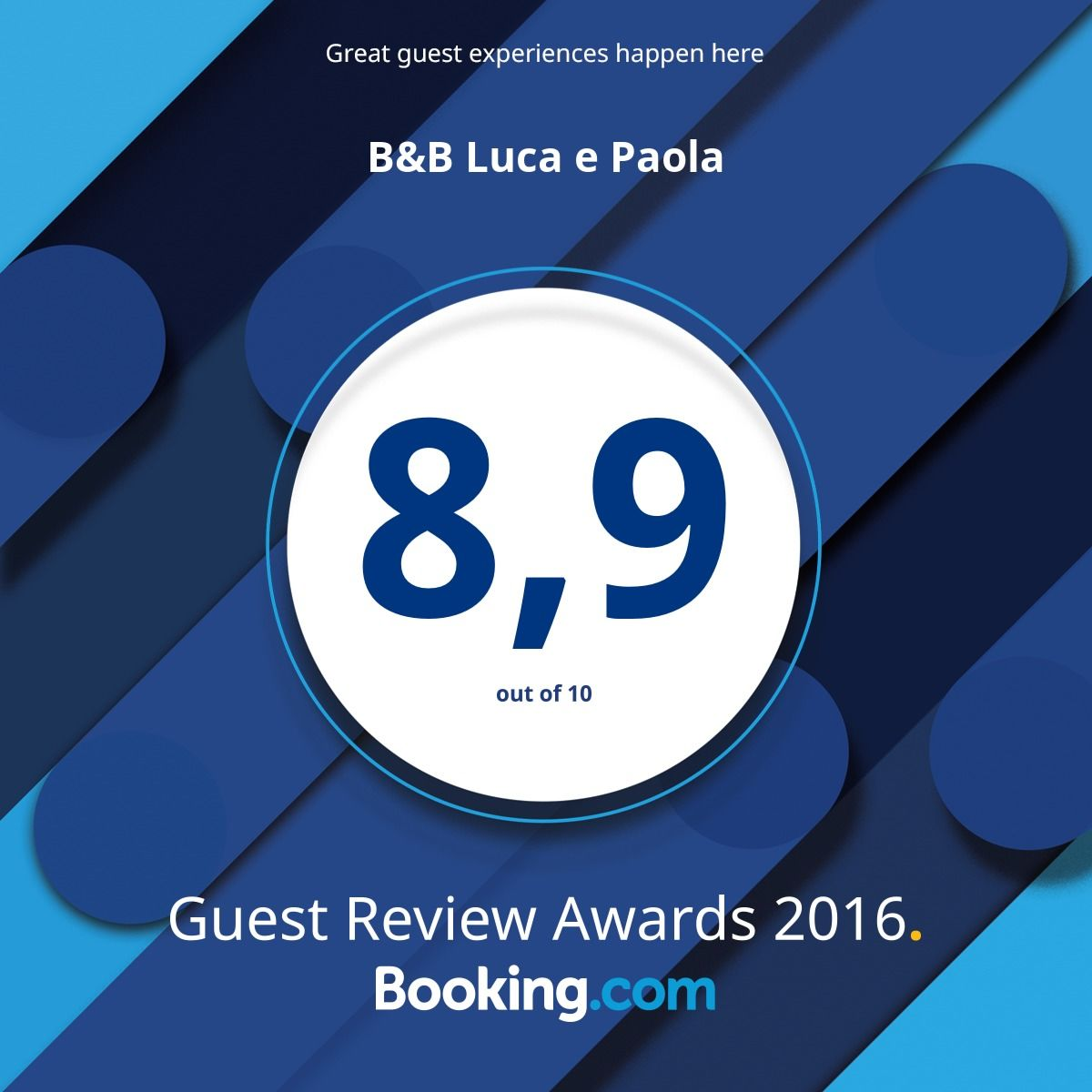 Guest Review 2016 Booking